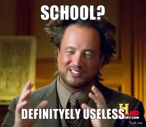 school-definityely-useless
