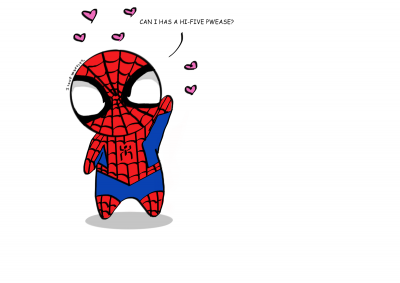 chibi_spiderman_wants_a_hi_five_pwease_by_tmntlover001-d6kxw85